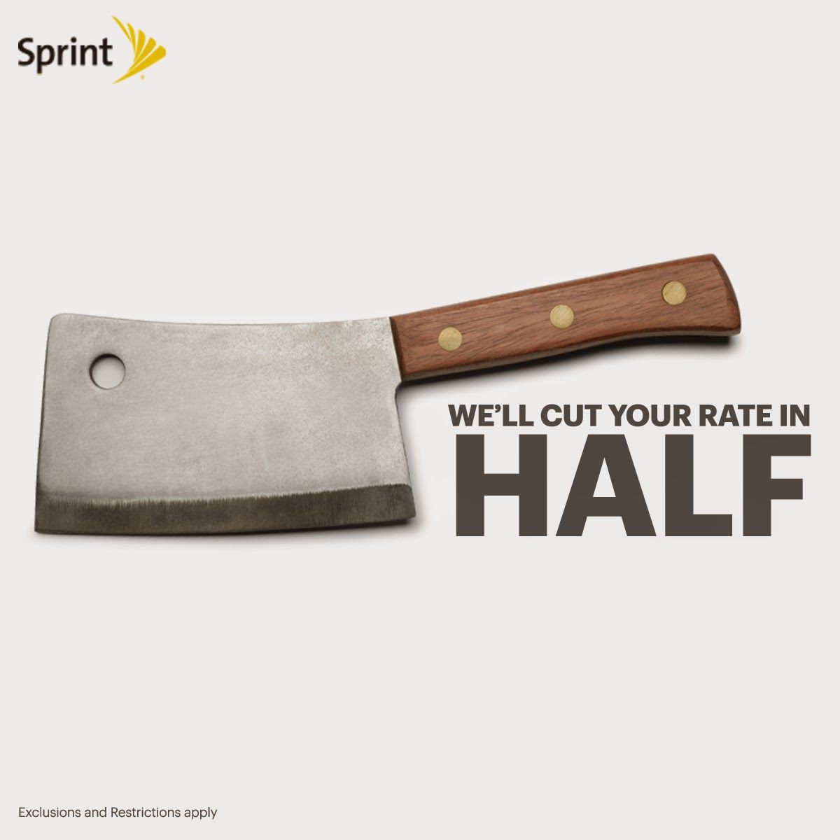 You ain't seen nothing yet. Bring us your Verizon or ATT bill and we'll #CutYourBill in half http://sprint.co/12kKrb6